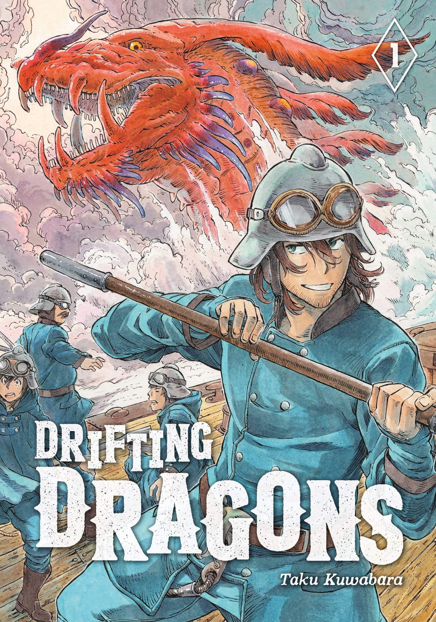 空挺ドラゴンズ-1巻表紙(英語)